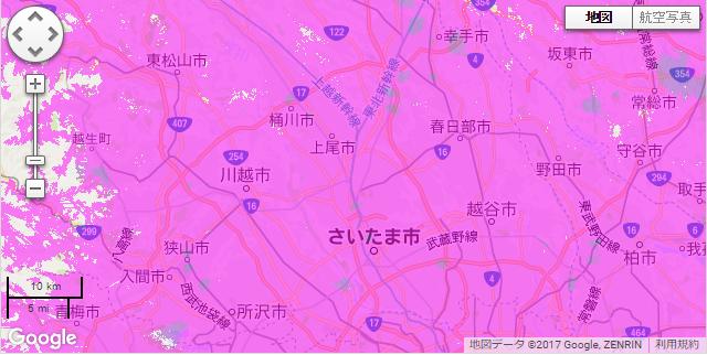 埼玉県利用可能エリア