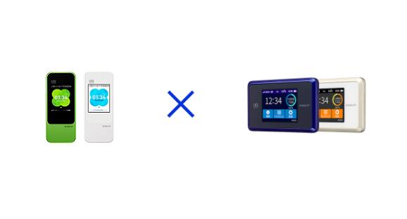 WiMAXのW04とWX03を徹底比較!15個の点で大検証!