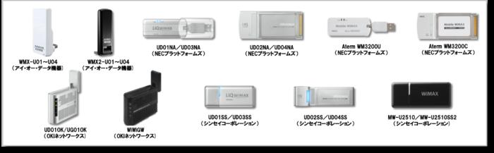 旧WiMAX終了で使えなくなるデータ通信カード