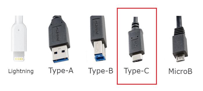 USBケーブルの種類