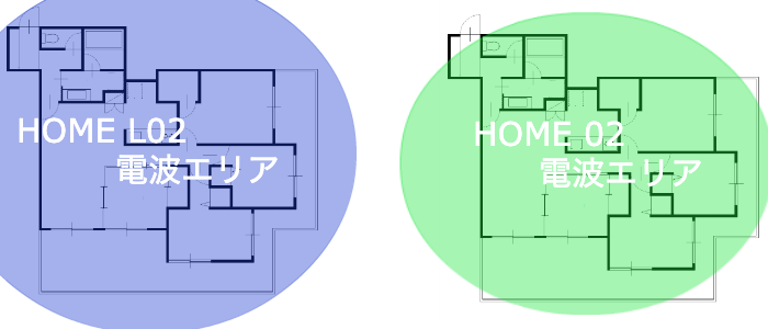 WiMAX HOME02 エリア