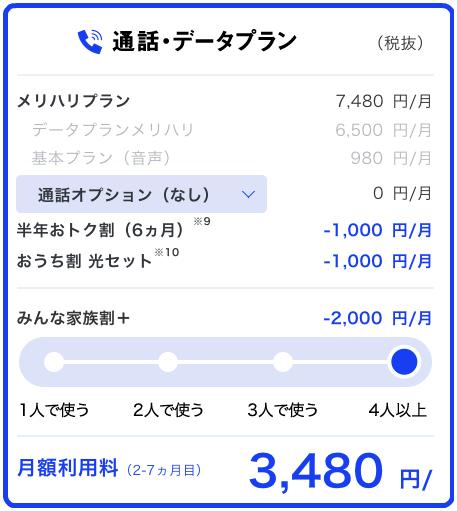 は と メリハリ Softbank プラン